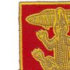 103rd Armored Cavalry Regiment Patch   Upper Left Quadrant