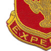 103rd Armored Cavalry Regiment Patch   Lower Left Quadrant