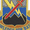 102nd Military Intelligence Battalion Patch | Center Detail