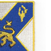 102nd Infantry Regiment Patch | Upper Right Quadrant