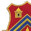 102nd Field Artillery Regiment Patch | Upper Left Quadrant