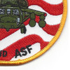 102nd Aviation Service Facility Patch | Lower Right Quadrant