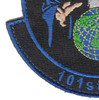 101st Information Warfare Flight Patch Hook And Loop | Lower Left Quadrant