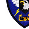 101st Division Winged Warriors Patch | Lower Left Quadrant