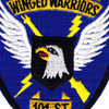 101st Division Winged Warriors Patch | Center Detail