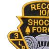 101st Division 506th Airborne Infantry Regiment 3rd Battalion Patch | Upper Left Quadrant