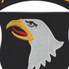 101st Airborne Division Screaming Eagles Large Back Patch | Center Detail