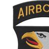 101st Airborne Division Screaming Eagles Large Back Patch | Upper Left Quadrant