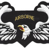 101st Airborne Division Patch Screaming Eagles Wings | Center Detail