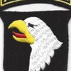 101st Airborne Division Patch Screaming Eagles - Version D | Center Detail