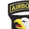 101st Airborne Division Patch Screaming Eagles - Version D | Upper Left Quadrant
