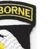 101st Airborne Division Patch Screaming Eagles - Version D | Upper Right Quadrant