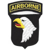 101st Airborne Division Patch Screaming Eagles - Version D