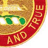 5th Field Artillery Battalion Patch DUI   Lower Right Quadrant