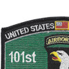 101st Airborne Division Military Occupational Specialty MOS Patch | Upper Left Quadrant