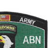 101st Airborne Division Military Occupational Specialty MOS Patch | Upper Right Quadrant