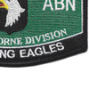 101st Airborne Division Military Occupational Specialty MOS Patch | Lower Right Quadrant
