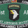 101st Airborne Division Military Occupational Specialty MOS Patch | Center Detail