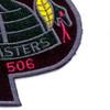101st Airborne Division 506th Airborne Infantry Regiment 3rd Battalion Patch   Lower Right Quadrant