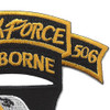 101st Airborne Division 506th Airborne Infantry Regiment 3nd Battalion Shock Force Patch | Upper Right Quadrant