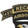 101st Airborne Division 506th Airborne Infantry Regiment 1st Battalion Recon Patch | Upper Left Quadrant