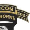 101st Airborne Division 506th Airborne Infantry Regiment 1st Battalion Recon Patch | Upper Right Quadrant