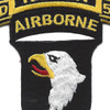 101st Airborne Division 506th Airborne Infantry Regiment 2nd Battalion Recon Patch | Center Detail