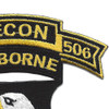 101st Airborne Division 506th Airborne Infantry Regiment 2nd Battalion Recon Patch | Upper Right Quadrant