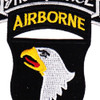 101st Airborne Division 506th Aiborne Infantry Regiment 3rd Battalion Shock Force Patch | Center Detail