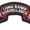 101st Abn Inf Long Range Scroll Patch | Center Detail