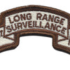 101st Abn Inf. Desert Long Range Patch | Center Detail