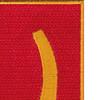 100th Field Artillery Regiment Patch | Upper Right Quadrant