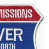 100 Missions Over North Vietnam Patch | Upper Right Quadrant