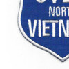 100 Missions Over North Vietnam Patch | Lower Left Quadrant
