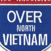 100 Missions Over North Vietnam Patch | Center Detail