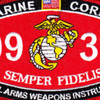 0932 Small Arms Weapons Instructor MOS Patch | Center Detail