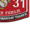 0931 Combat Marksmanship Trainer Patch | Lower Right Quadrant
