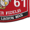 0861 Observer Liasion Man MOS Patch | Lower Right Quadrant