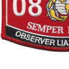 0861 Observer Liasion Man MOS Patch | Lower Left Quadrant