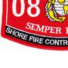 0849 Shore Fire Control Party Man MOS Patch | Lower Left Quadrant