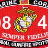 0845 Naval Gunfire Spotter MOS Patch | Center Detail