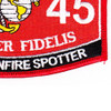 0845 Naval Gunfire Spotter MOS Patch   Lower Right Quadrant