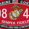 0844 Field Artillery Fire Control Man MOS Patch | Center Detail