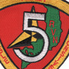 5th Communications Battalion Vietnam Patch | Center Detail