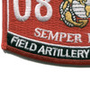 0841 Field Artillery Cannoneer MOS Patch | Lower Left Quadrant