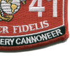 0841 Field Artillery Cannoneer MOS Patch | Lower Right Quadrant