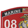0802 Artillery Officer MOS Patch | Upper Left Quadrant