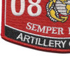 0802 Artillery Officer MOS Patch | Lower Left Quadrant