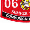 0699 Communications Chief MOS Patch | Lower Left Quadrant