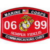 0699 Communications Chief MOS Patch